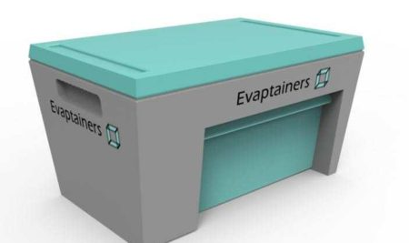 Evaptainers, tecnología de refrigeración móvil gratuita