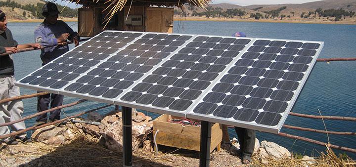 bombeo solar lago titicaca peru