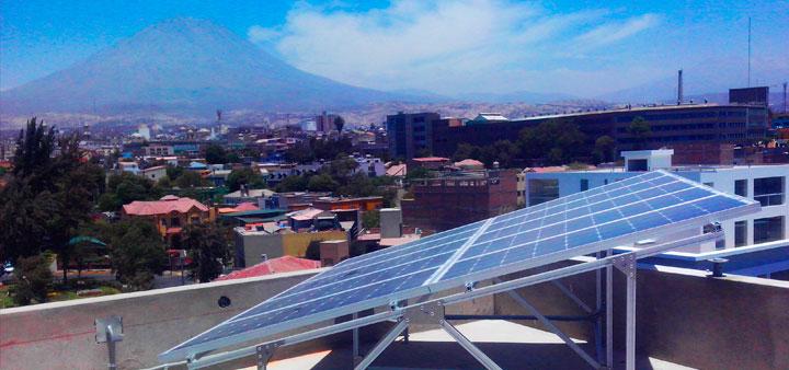 energia solar arequipa peru